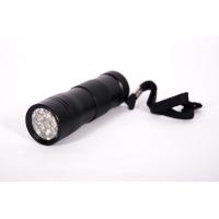 Ультрафиолетовый фонарь (12 светодиодов, 3xААА, 395нм)
