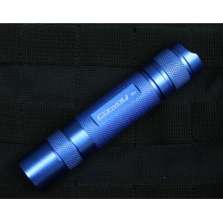 Светодиодный фонарь Convoy S2+ Blue XM-L2 T6 4C нейтральный белый 1000 люмен, 1x18650