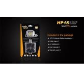 Светодиодный налобный фонарь Fenix HP15 UE 900 ANSI лм, 4xAA
