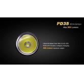 Светодиодный Фонарь Fenix PD35 2014 XM-L2 960 ANSI лм, 1x18650/2xCR123
