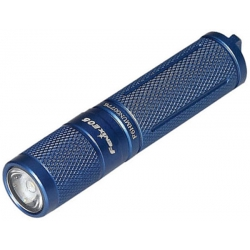 Светодиодный фонарь Fenix E05 2014 Edition синий 85 ANSI лм, 1xAAА
