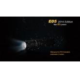 Светодиодный фонарь Fenix E05 2014 Edition черный 85 ANSI лм, 1xAAА