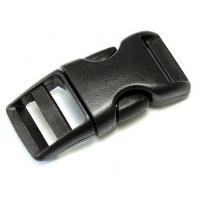 Фастекс 16 мм (5/8) Черный с одинарной регулировкой