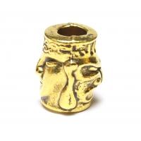 Бусина для паракорда - H8 Gold