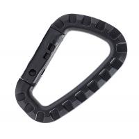 Карабин пластиковый большой Balck (черный)