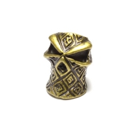 Бусина для паракорда - M1- Шлем  - Bronze