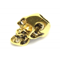 Череп Golden для паракорда с вертикальным отверстием