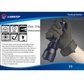 Светодиодный фонарь Lumintop Hunter T5 460 ANSI люмен, 1х18650 / 2xCR123