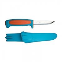 Нож MORA Basic 546, нержавеющая сталь, оранж/синий