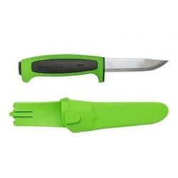 Нож Mora Basic 546 2019 Edition нержавеющая сталь, зеленый/черный