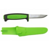 Нож Mora Basic 511 2019 Edition углеродистая сталь, черный/зеленый