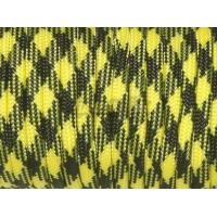 Паракорд 550 Type III Yellow Black Camo