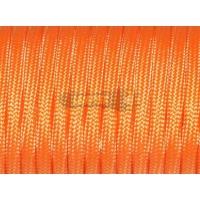 Паракорд 550 Type III Orenge Neon (оранжевый неон) Premium