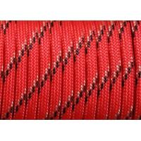 Паракорд 550 Type III Red Trasser (красный трассер) Premium