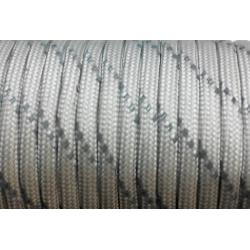 Паракорд со светоотражающей нитью (reflective) - серый