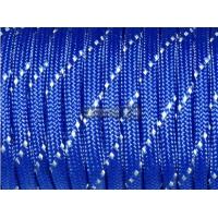 Паракорд со светоотражающей нитью (reflective) - синий