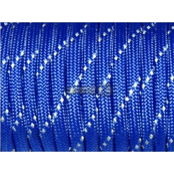 ПаПаракорд со светоотражающей нитью (reflective) - синий