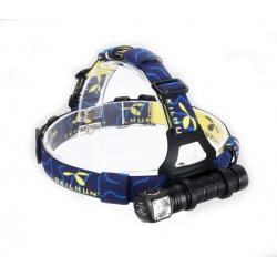 Налобный светодиодный фонарь Skilhunt H02 820 ANSI люмен, 1x18650