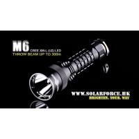 Светодиодный фонарь Solarforce M6 XM-L (600 лм, 1x18650, 2xCR123)