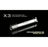 Светодиодный фонарь Solarforce X3 50 LED лм, 1xAAА