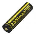 Литий-ионный (Li-Ion) аккумулятор 18650 с USB зарядкой Nitecore NL1834R USB 3400mAh с защитой