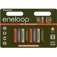 Аккумулятор Panasonic Eneloop 800 mAh AAA BK-4MCCE/4BE Expedition 8 штук в блистере