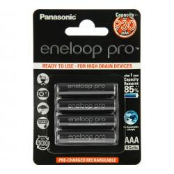 Аккумулятор Panasonic Eneloop Pro 950 mAh AAA BK-4HCDE/4BE  Блистер 4 шт