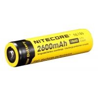 Литий-ионный аккумулятор 18650 Nitecore 2600 mAh NL168 с защитой