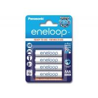 Аккумулятор Panasonic Eneloop 800 mAh AAA BK-4MCCE/4BE  Блистер 4 шт