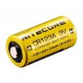 Литиевая батарея Nitecore CR123A