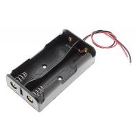 Держатель (батарейный отсек) для 2х18650 (3.7 В)