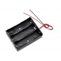 Держатель (батарейный отсек) для 3х18650 (3,7 В)