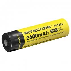 Литий-ионный аккумулятор 18650 Nitecore 2600 mAh NL1826
