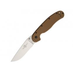 Складной нож Ontario RAT-1 8867CB  Сталь D2 / Рукоять Coyote Brown