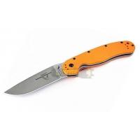 Складной нож Ontario RAT-1 ON8848OR Plain / Оранжевая рукоять