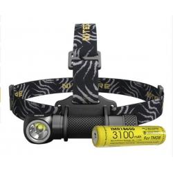 Налобный светодиодный фонарь Nitecore HC33+ АКБ IMR18650 3100mAh 1800 ANSI люмен, 1x18650, 2xCR123