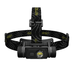 Налобный светодиодный фонарь Nitecore HC60 нейтральный белый свет + АКБ, ЗУ 1000 ANSI люмен, 1x18650, 2xCR123