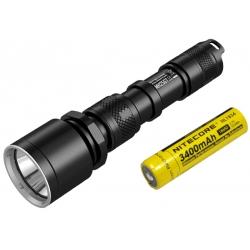 Светодиодный фонарь Nitecore MH25GT + АКБ, ЗУ 1000 ANSI люмен, 1x18650 или 2xCR123
