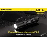 Светодиодный фонарь Nitecore MT1A, 180 ANSI люмен, 1xАА