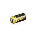 Литий-ионный аккумулятор NiteCore NL166 RCR123 Li-ion