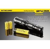 Светодиодный фонарь Nitecore SRT6 Night Officer, 930 ANSI люмен, 1x18650/2xCR123