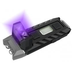 Светодиодный фонарь-брелок  Nitecore Thumb LEO UV 45 люмен + UV 365нм 500мВт