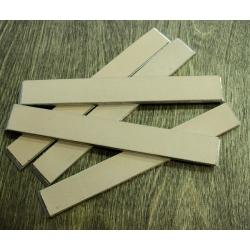 Алюминиевый бланк для точилок Apex (3 мм) с кожей (4 мм, чепрак)